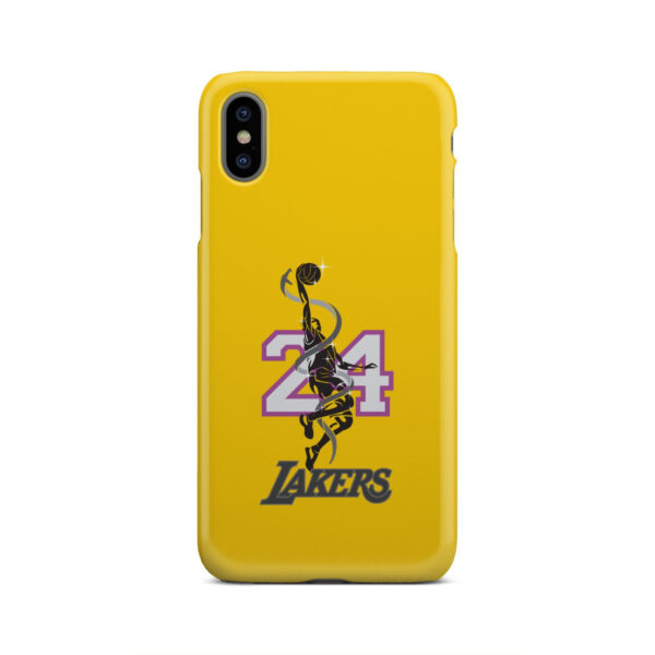Kobe Bryant LA Lakers for Cool iPhone XS Max Case