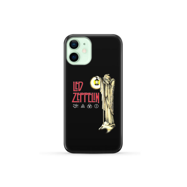 Led Zeppelin Icon for Cute iPhone 12 Mini Case Cover