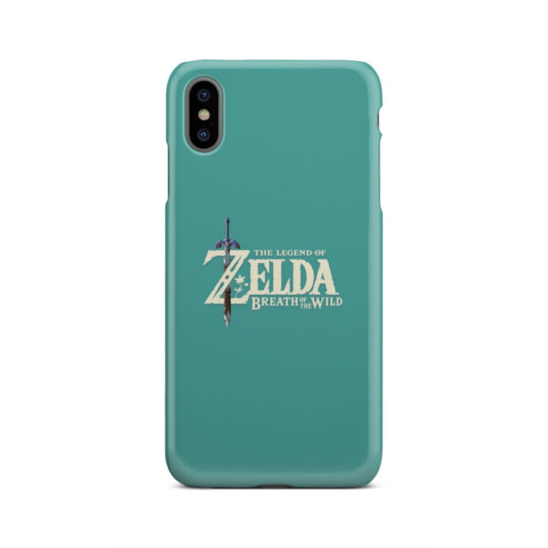 Legend Of Zelda Logo for Beautiful iPhone XS Max Case Cover