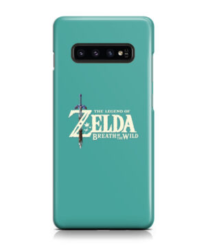 Legend Of Zelda Logo for Custom Samsung Galaxy S10 Plus Case Cover