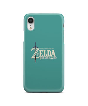 Legend Of Zelda Logo for Personalised iPhone XR Case Cover