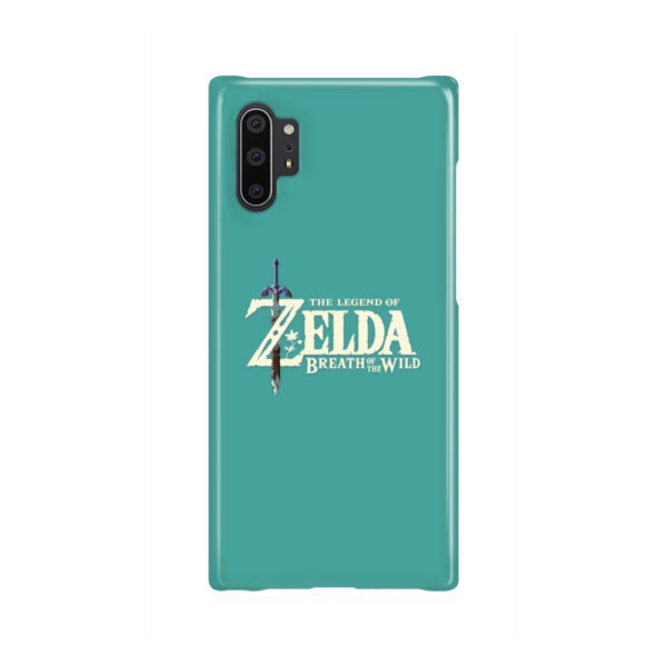 Legend Of Zelda Logo for Stylish Samsung Galaxy Note 10 Plus Case Cover