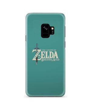 Legend Of Zelda Logo for Stylish Samsung Galaxy S9 Case Cover