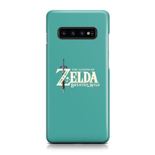 Legend Of Zelda Logo for Unique Samsung Galaxy S10 Case