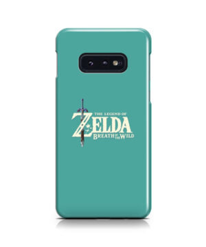 Legend Of Zelda Logo for Unique Samsung Galaxy S10e Case Cover