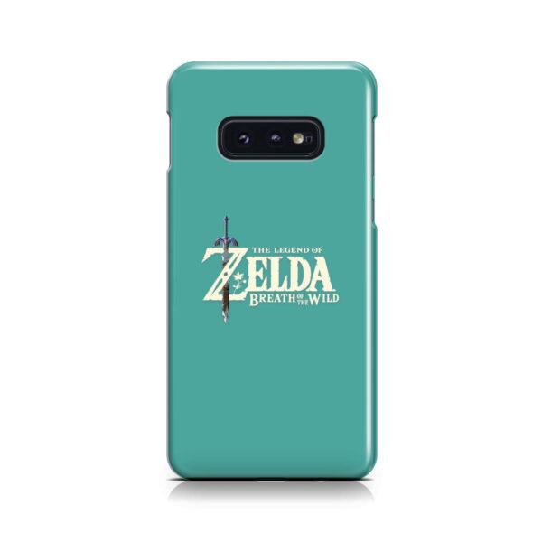 Legend Of Zelda Logo for Unique Samsung Galaxy S10e Case Cover