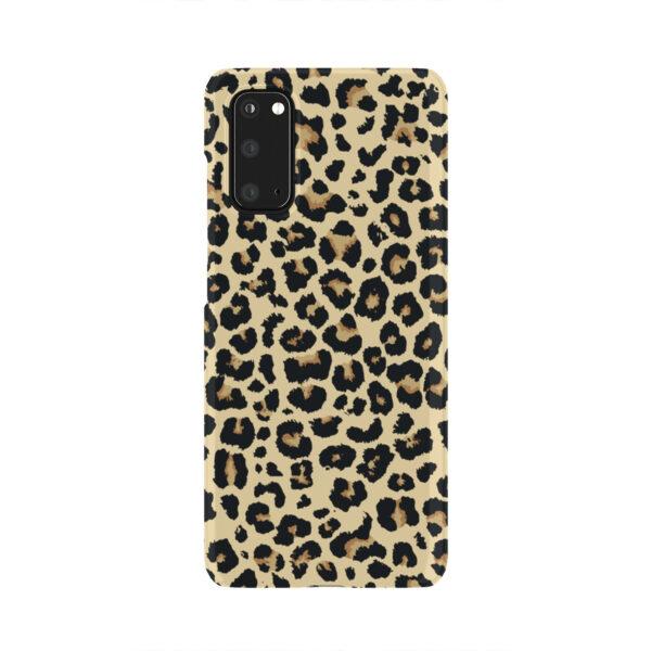 Leopard Print for Best Samsung Galaxy S20 Case