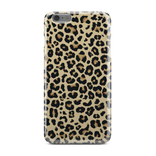 Leopard Print for Cool iPhone 6 Plus Case Cover