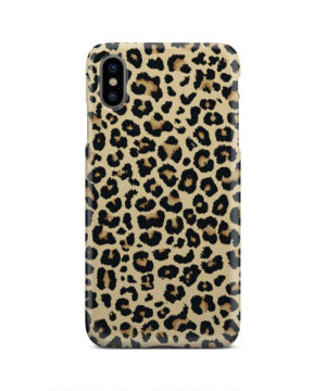 Leopard Print for Customized iPhone XS Max Case