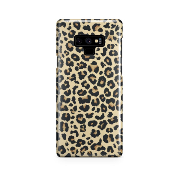 Leopard Print for Customized Samsung Galaxy Note 9 Case Cover