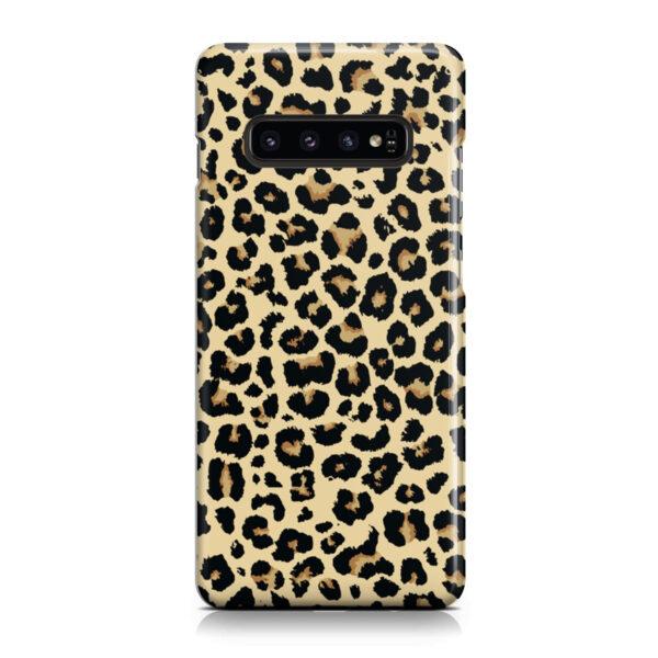 Leopard Print for Cute Samsung Galaxy S10 Plus Case Cover