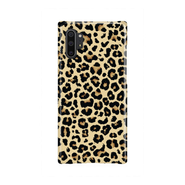 Leopard Print for Personalised Samsung Galaxy Note 10 Plus Case Cover