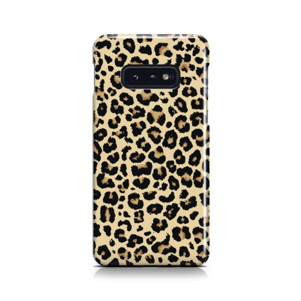 Leopard Print for Stylish Samsung Galaxy S10e Case
