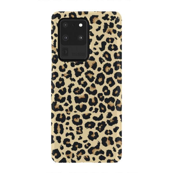Leopard Print for Unique Samsung Galaxy S20 Ultra Case