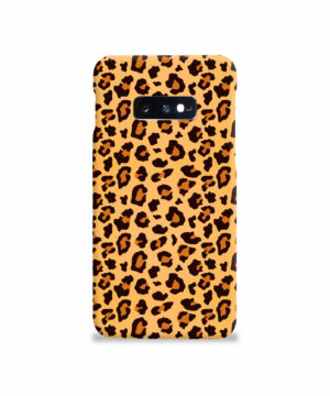 Leopard Print Texture for Beautiful Samsung Galaxy S10e Case