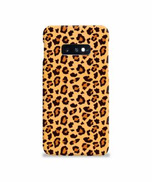 Leopard Print Texture for Beautiful Samsung Galaxy S10e Case