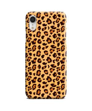 Leopard Print Texture for Best iPhone XR Case