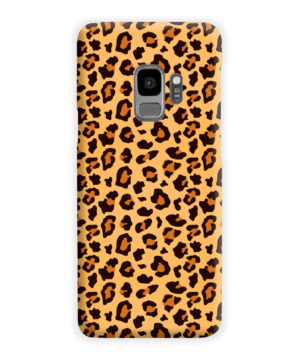Leopard Print Texture for Cute Samsung Galaxy S9 Case Cover