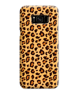 Leopard Print Texture for Newest Samsung Galaxy S8 Plus Case Cover