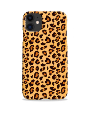 Leopard Print Texture for Personalised iPhone 11 Case