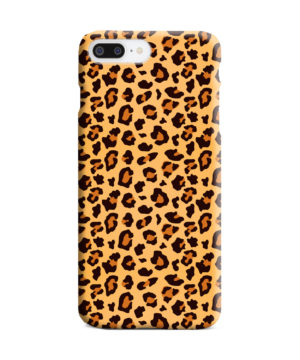Leopard Print Texture for Personalised iPhone 8 Plus Case
