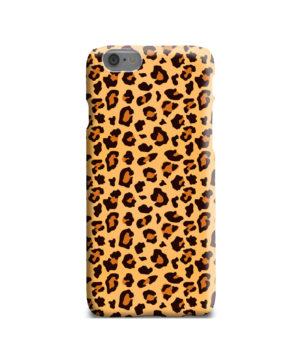 Leopard Print Texture for Premium iPhone 6 Case
