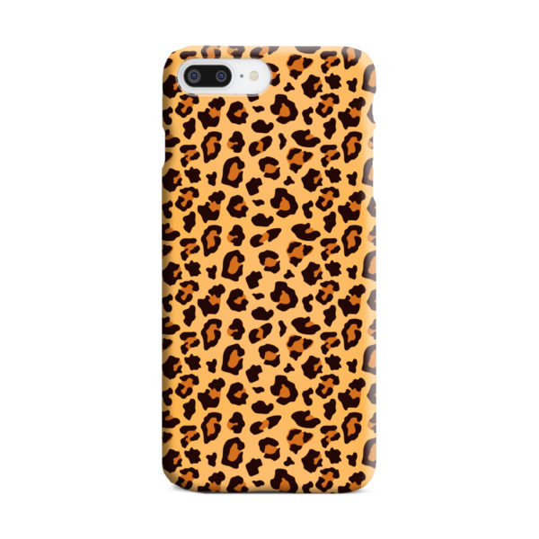 Leopard Print Texture for Unique iPhone 7 Plus Case Cover