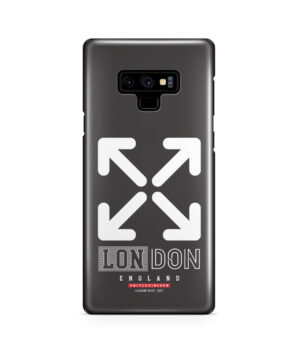 London England Off White for Best Samsung Galaxy Note 9 Case Cover