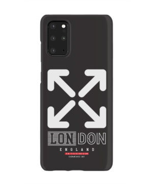 London England Off White for Newest Samsung Galaxy S20 Plus Case Cover
