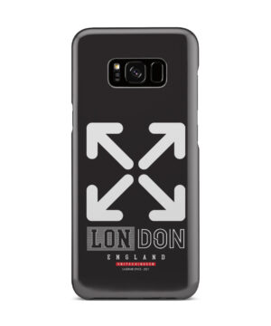 London England Off White for Nice Samsung Galaxy S8 Plus Case