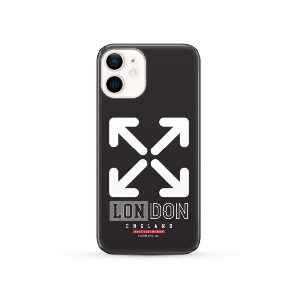 London England Off White for Personalised iPhone 12 Case