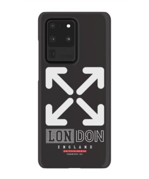 London England Off White for Premium Samsung Galaxy S20 Ultra Case