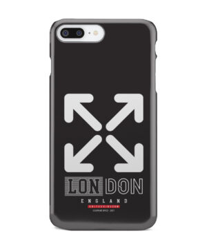 London England Off White for Unique iPhone 7 Plus Case Cover