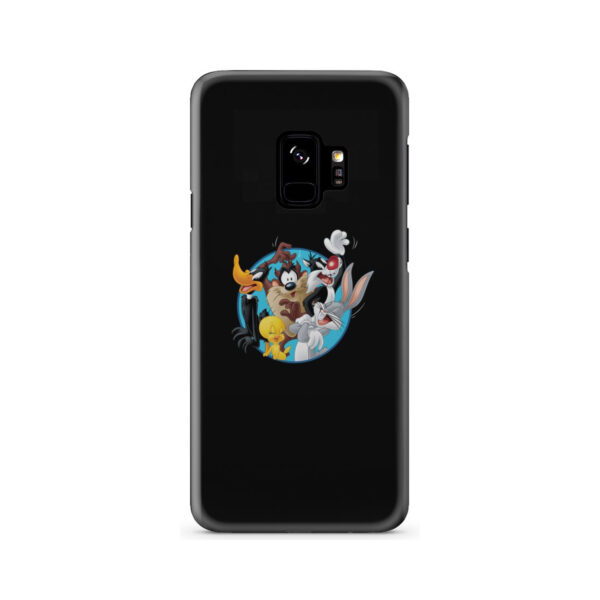 Looney Tunes Cartoon Characters for Simple Samsung Galaxy S9 Case