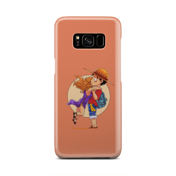 Luffy One Piece Characters for Cool Samsung Galaxy S8 Case Cover