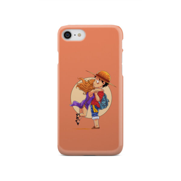 Luffy One Piece Characters for Trendy iPhone SE 2020 Case Cover