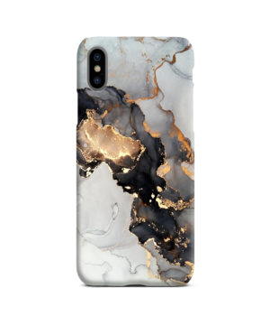 Luxury Black and Gold Ink Art for Amazing iPhone X / XS Case