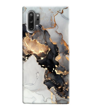 Luxury Black and Gold Ink Art for Amazing Samsung Galaxy Note 10 Case