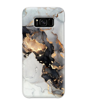 Luxury Black and Gold Ink Art for Amazing Samsung Galaxy S8 Case Cover