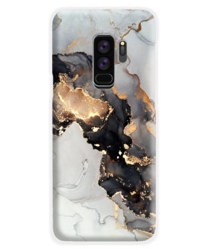 Luxury Black and Gold Ink Art for Amazing Samsung Galaxy S9 Plus Case Cover