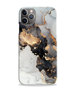Luxury Black and Gold Ink Art for Premium iPhone 11 Pro Max Case