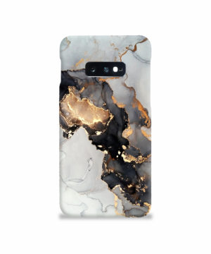 Luxury Black and Gold Ink Art for Simple Samsung Galaxy S10e Case