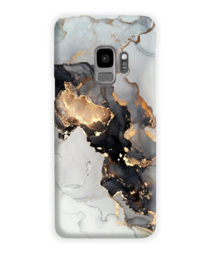 Luxury Black and Gold Ink Art for Simple Samsung Galaxy S9 Case Cover