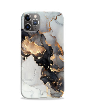 Luxury Black and Gold Ink Art for Stylish iPhone 11 Pro Case