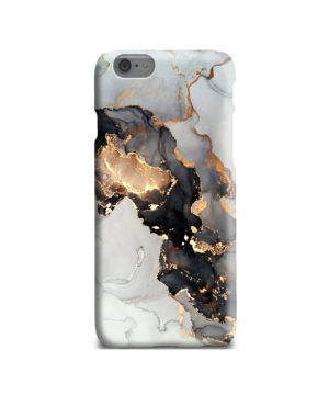 Luxury Black and Gold Ink Art for Trendy iPhone 6 Case Cover