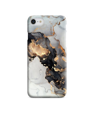 Luxury Black and Gold Ink Art for Trendy iPhone 7 Case Cover