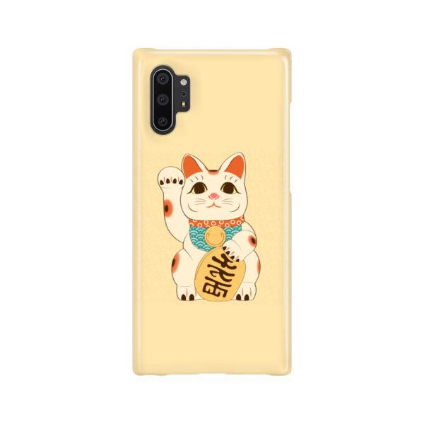 Maneki Neko Lucky Cat for Customized Samsung Galaxy Note 10 Plus Case Cover