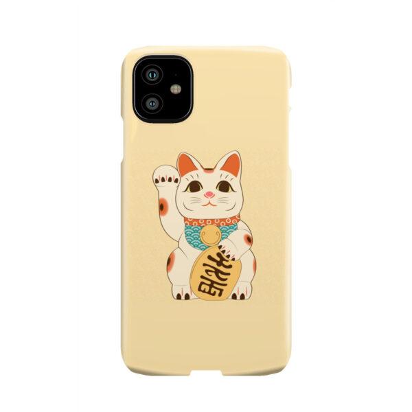 Maneki Neko Lucky Cat for Cute iPhone 11 Case