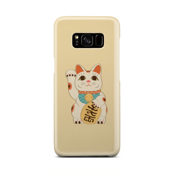 Maneki Neko Lucky Cat for Trendy Samsung Galaxy S8 Case Cover