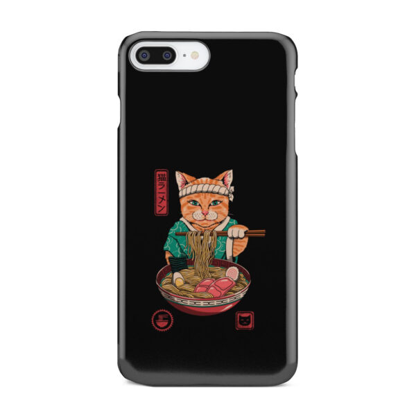 Maneki Neko Ramen Cat Anime for Cool iPhone 8 Plus Case Cover